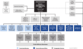 Usaid Org Chart Appendix A Organizational Chart For Usaid The Role Of