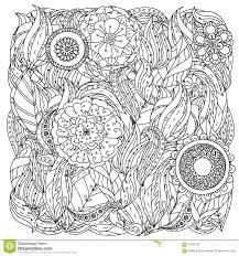 Modello Per Il Libro Da Colorare Illustrazione Vettoriale