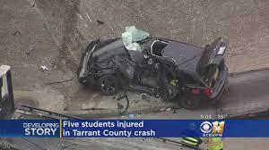 5 s injured in tarrant co crash