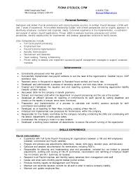 Payroll Resume Extraordinary Payroll Resume Final