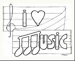 Music Coloring Sheets For Adults With Pages Kids Printable