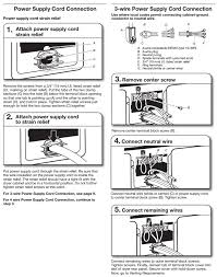 electrical where does the ground wire go in a 3 prong dryer cord 3 wire instructions