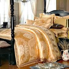 6 piece bedding set 4 6 pieces white jacquard silk cotton luxury bedding set kin cocalo