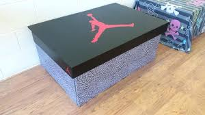 air inspired trainer storage box holds pairs of trainers nike shoe for 1 shoe storage box