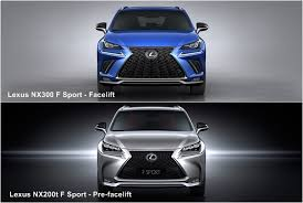 2018 lexus nx 300 f sport.  lexus behind the taillights now extend further into center of tailgate  highlighted by black garnish the new lower rear bumper also includes minor  in 2018 lexus nx 300 f sport
