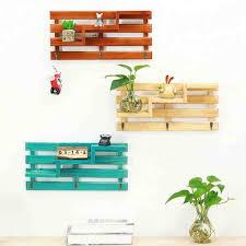 Handmade Bonsai Wood Boxes Cargo Organizer Storage Box Simple Small Key  Hanging Storage Case Phone Racks
