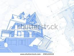 architecture design blueprint. Architecture Design: Blueprint - House \u0026 Plans Vector Illustration Design T