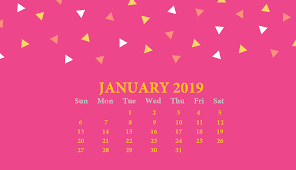 Free 2019 Monthly Hd Calendar Wallpaper Latest Calendar