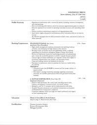 Banker Resume Sample Personal Banker Manager Resume Principal Duties