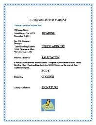 fe9f0348e2458c660afa7684a3aa3772 business letter format writing lessons