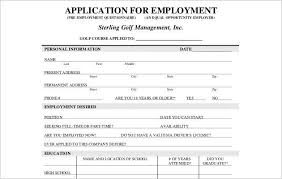 Pre Employment Application Template Employee Application Form Templates Word Templates Smartcolorlib
