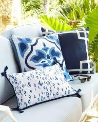 Outdoor Pillows & Garden Stools at Neiman Marcus Horchow