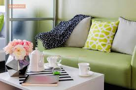 Pink And Green Living Room Trendy Living Room Colours This Season Renomania