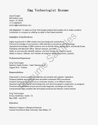 Bunch Ideas Of Radiologic Technologist Resume Objective Examples