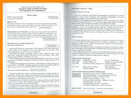 Resume 2 Pages