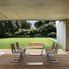 Moderner Esstisch Holz Beton Rechteckig Gravity By Jakub