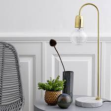 Bloomingville Coffee Table Buy Bloomingville Table Lamp Marble Brass Amara