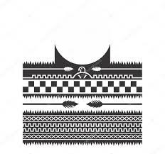 Indiánské Vzor Umění Tetování Téma Stock Vektor Vectorfirst