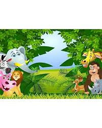 baby safari background. Perfect Baby LFEEY 7x5ft Cute Zoo Backdrop Baby Shower Photo Booth Props Cartoon Green  Safari Park Elephant Monkey For Background R