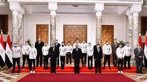تفاصيل تكريم السيسي لأبطال أولمبياد طوكيو 2020 - مصر - الوطن