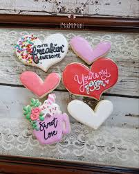 Message Cookie Designs Valentine Cookies Message Me For More Info Designs