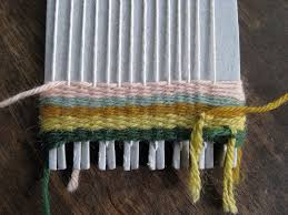 Image result for making a loom using yarn image