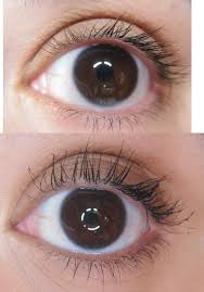 mascara before and after. it cosmetics superhero before and after mascara