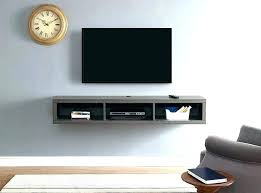 tv wall mount with shelf shelves wood for mounted floating equipment amazing best flat screen shel