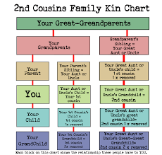 Family History Relationship Chart What Cousin Are They How To Understand Family