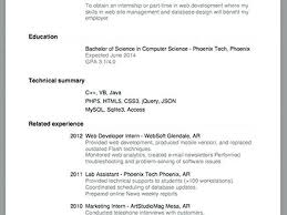 Simple Resume For Job Simple Job Resume Template Example Job Resume ...