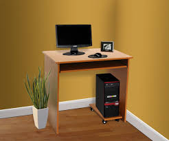 maple effect computer desk with pullout keyboard shelf maple co uk kitchen home