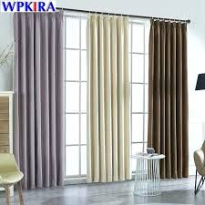 Beige Bedroom Curtains And White Us Off Modern Solid Suede Blackout ...