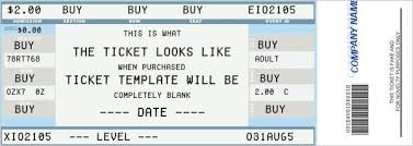 Show Ticket Template Show Ticket Template Mm_soldier