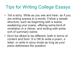 Tips For Writing College Essays College Essays Tips Magdalene Project Org