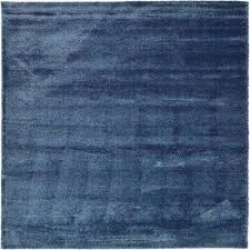 luxe solo navy blue 10 x 13 rug
