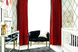 red black curtains and bedroom white nursery with be blackout 66 x 72 fabulous red and gray curtains