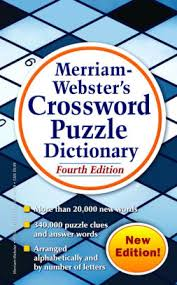 merriam webster s crossword puzzle dictionary 4th edition
