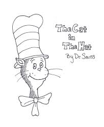 Small Picture Free Coloring Pages Cat In The Hat