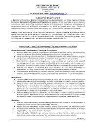 Resume Objective Sample Marketing Statements Resume Objective For