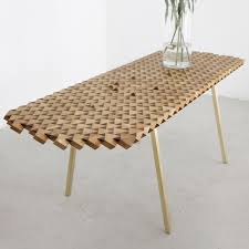 geometric furniture. atlas geometric dining table by the fundamental shop furniture