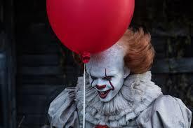 Wallpaper It Bill Skarsgard Clown Pennywise Horror Hd