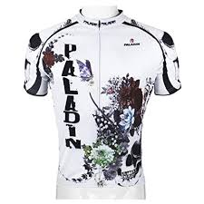 Paladin Cycling Jersey Size Chart Amazon Com Paladinsport Mens Multicolor Flowers And Skull