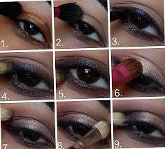 tutorial makeup smokey mata emas ungu