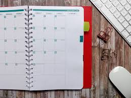 Monthly Calendar Notebook Life Noted Calendar Catalog Quo Vadis Planners Journals