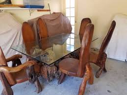 dining table and chairs gvine burl california redwood dining tables gumtree australia brisbane north west brisbane city 1190877134