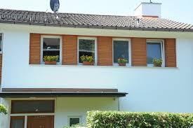 Holzfassade Fassadenelemente Mit Fenster Schreinerei Pracht