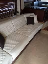 photo of nia interiors farmingdale ny united states yacht sofa done in