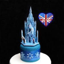 25cm 3d Frozen Ice Castle Cake Topper Etsy