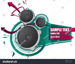 sound system clipart. graffiti style sound-system green sound system clipart