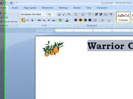 How To Letter Head Word How To Create Letterhead In A Word Document